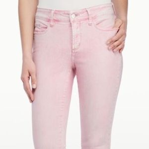 NYDJ Angie Super Skinny Ankle Jeans in Water Lily
